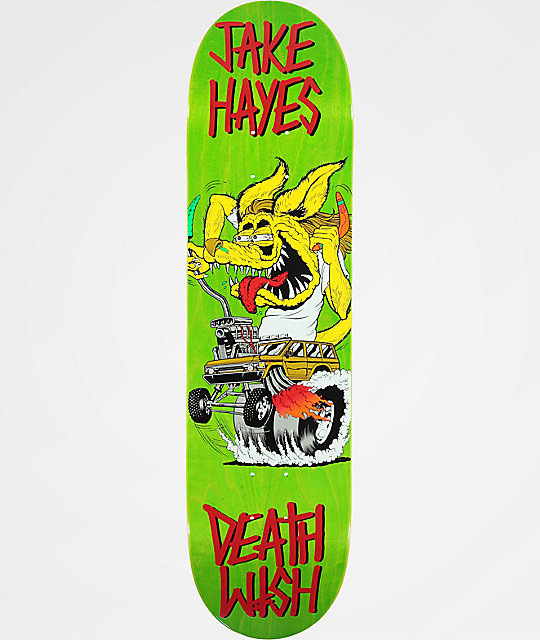 "Deathwish Creeps 8.0"" Skateboard Deck"