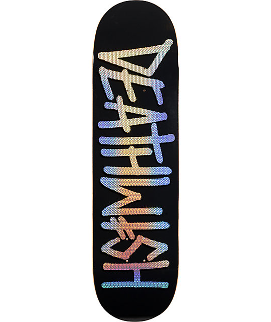 "Deathwish Deathspray Bling 8.25""  Skateboard Deck"