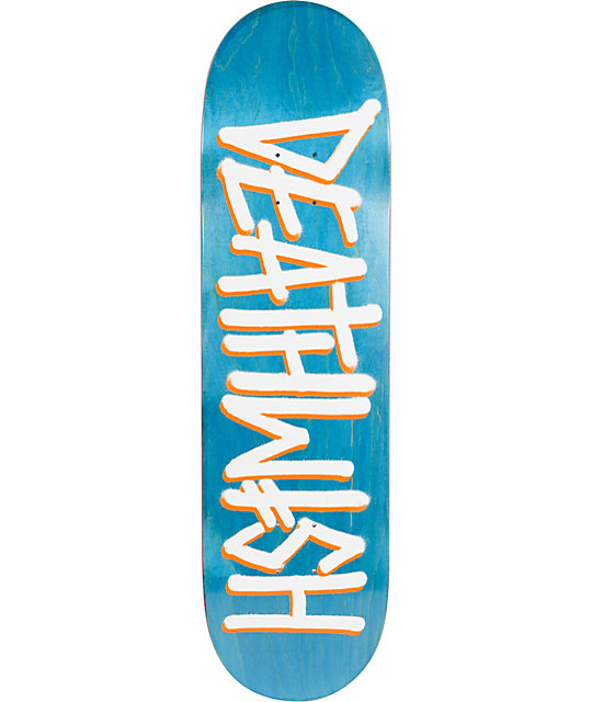 "Deathwish Deathspray Bluewood 8.38""  Skateboard Deck"