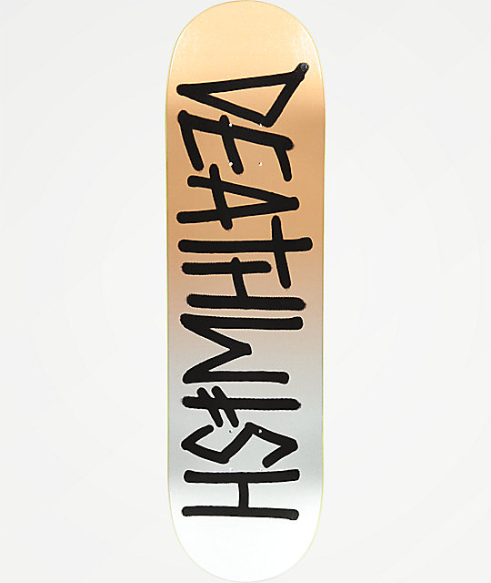 "Deathwish Deathspray Metallic Death 8.75"" Skateboard Deck"
