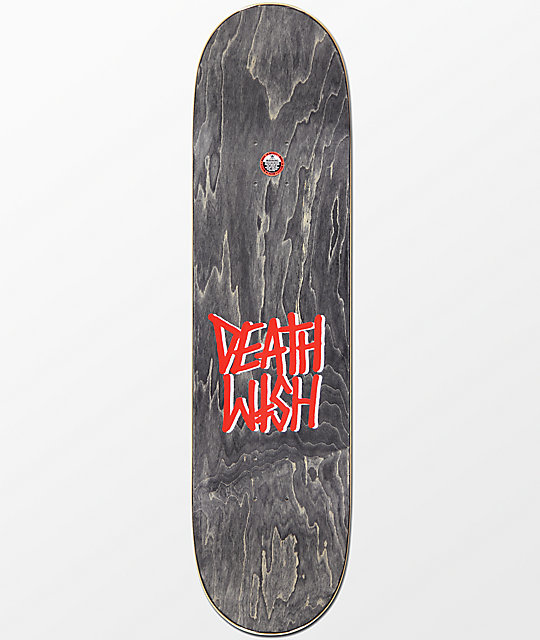 "Deathwish Ellington Grateful Shred 8.25""  Skateboard Deck"