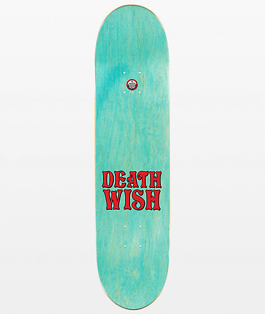 "Deathwish JF Happy Place 8.0"" Skateboard Deck"