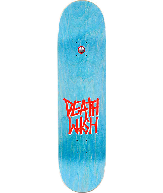 "Deathwish Lizard Fly 8.25""  Skateboard Deck"