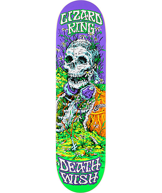 "Deathwish Lizard King Buried Alive 8.38""  Skateboard Deck"