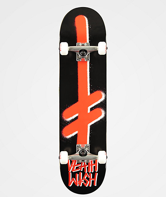 Deathwish Logo Black & Red 7.75