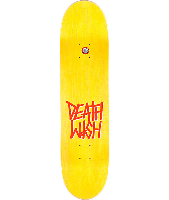 "Deathwish Thrash Red 8.0""  Skateboard Deck"