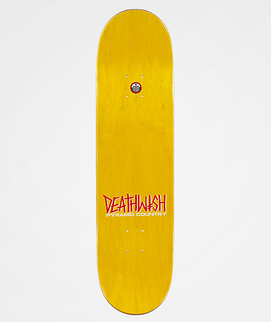 Deathwish x Pyramid Country Ellington 8.25