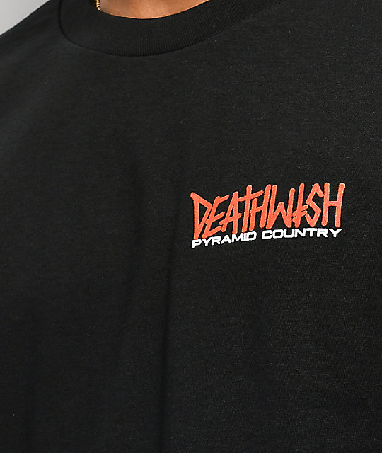 Deathwish x Pyramid Country Exeter Black T-Shirt