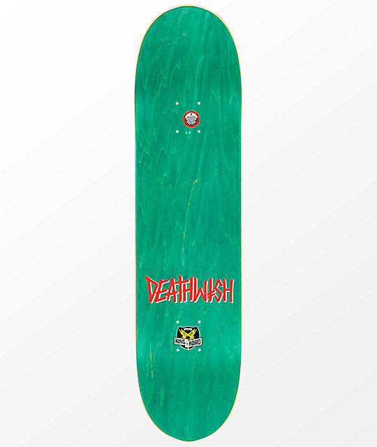 "Deathwish x Thrasher KOTR Shortys Team 8.0"" Skateboard Deck"