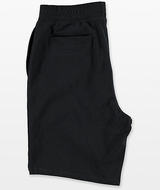 Deathworld Black Knit Shorts