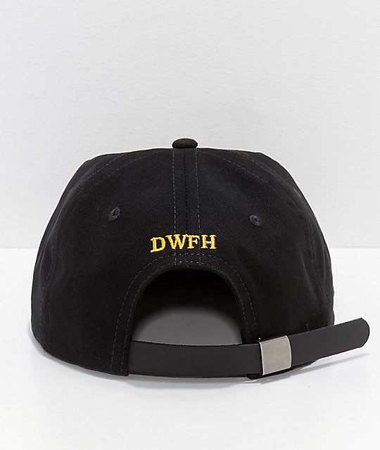 Deathworld Chainstitch gorra strapback en negro