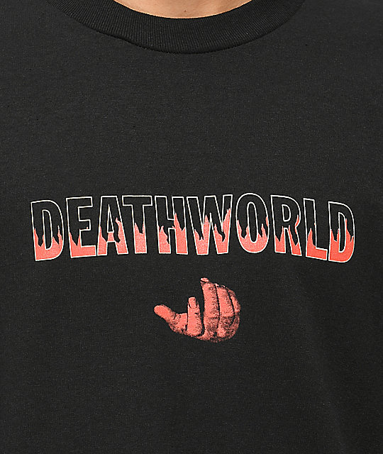 Deathworld Heat Black T-Shirt