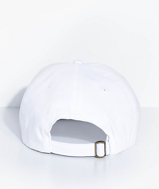 Deathworld Intercontinental White Strapback Hat