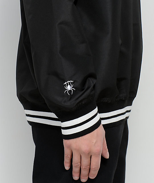 Deathworld Lucious Black Pullover Jacket