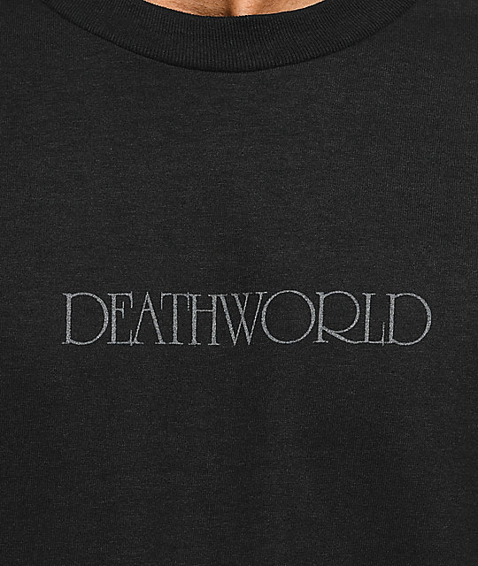 Deathworld Nocturnal camiseta negra