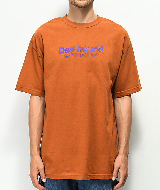 Deathworld Sportif Orange T-Shirt
