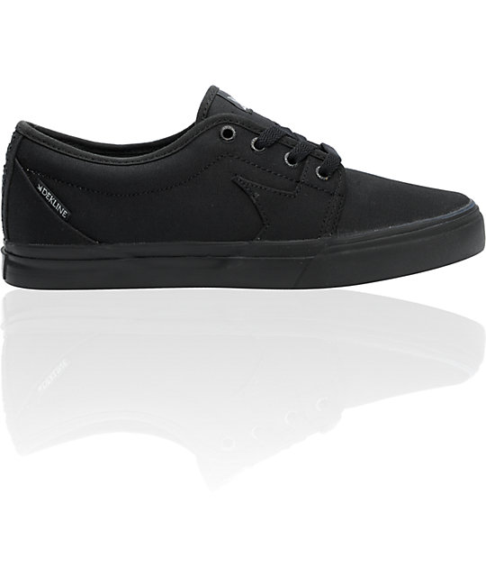 Dekline BLYE Black Shoes