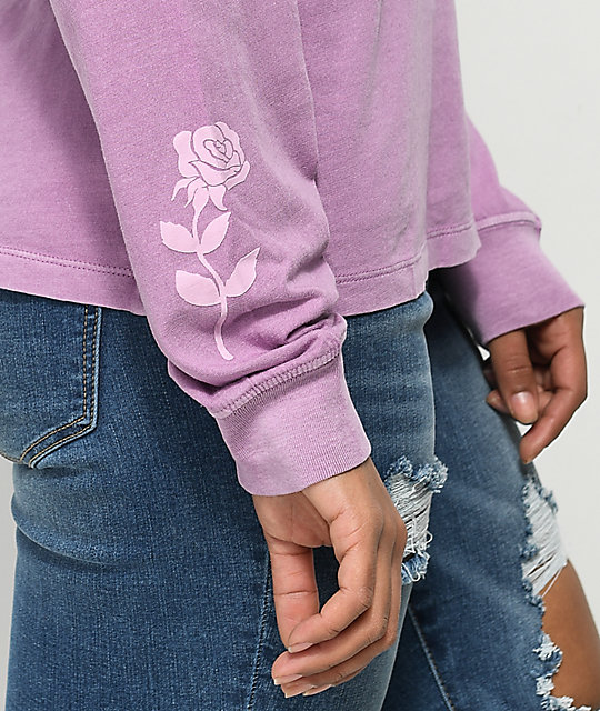Desert Dreamer Forgive & Foreget Lavender Long Sleeve T-Shirt