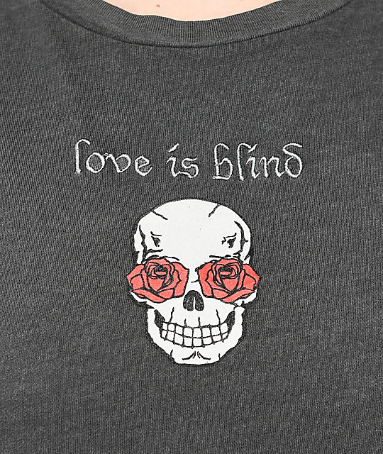 Desert Dreamer Love Is Blind Washed Black T-Shirt