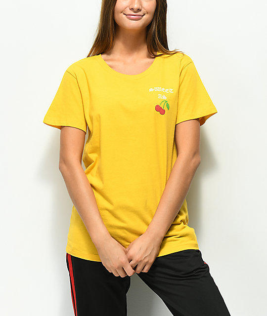 Desert Dreamer Sweet As Cherry Mustard T-Shirt
