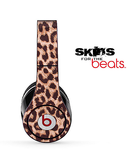 Design Skinz Beats Solo Leopard Headphone Skin