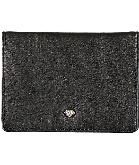 Diamond Supply Co Bi-Fold Black ID Wallet