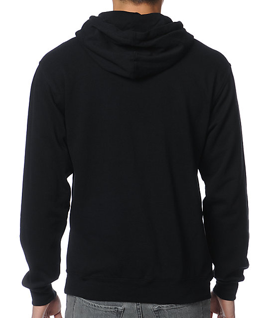 Diamond Supply Co Big Unpolo Black Pullover Hoodie