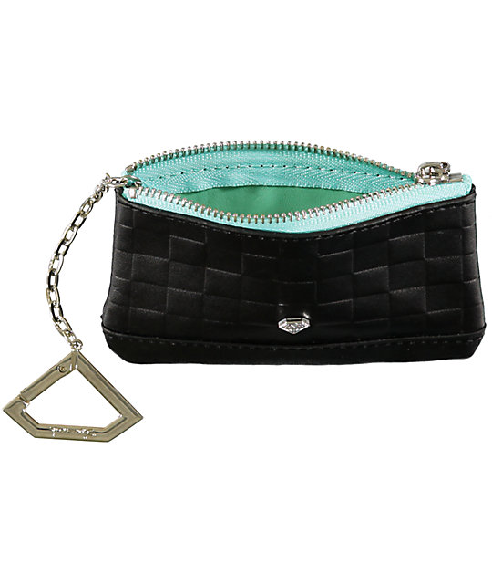 Diamond Supply Co Black Chain Coin Pouch