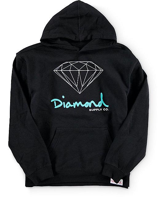 Diamond Supply Co Boys OG Sign Hoodie