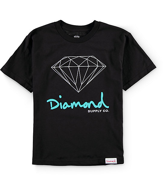Diamond Supply Co Boys OG Sign T-Shirt  2147726c625d