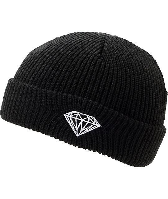 New Diamond Supply Co Brilliant Black Cap Hat Beanie