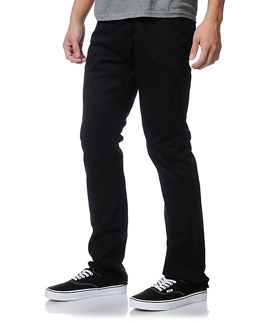 Diamond Supply Co Brilliant Cut Black Slim Pants