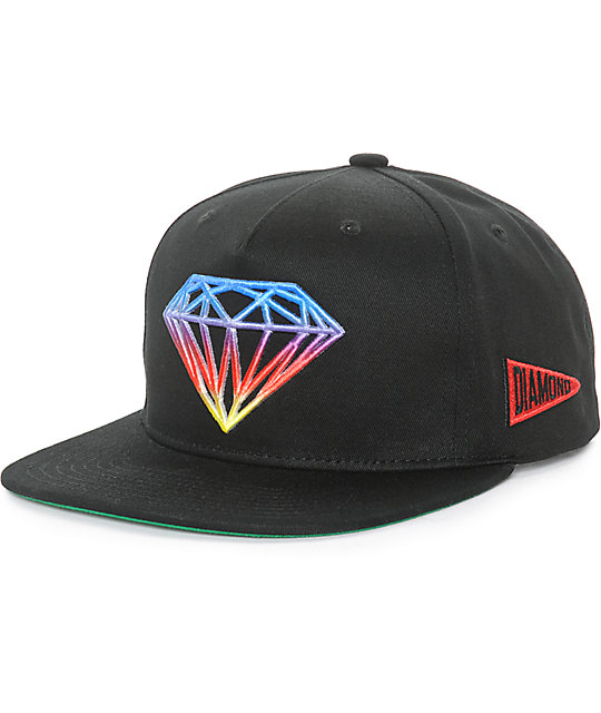 53322dbfc678a Diamond Supply Co Brilliant Gradient Tie Dye Snapback Hat
