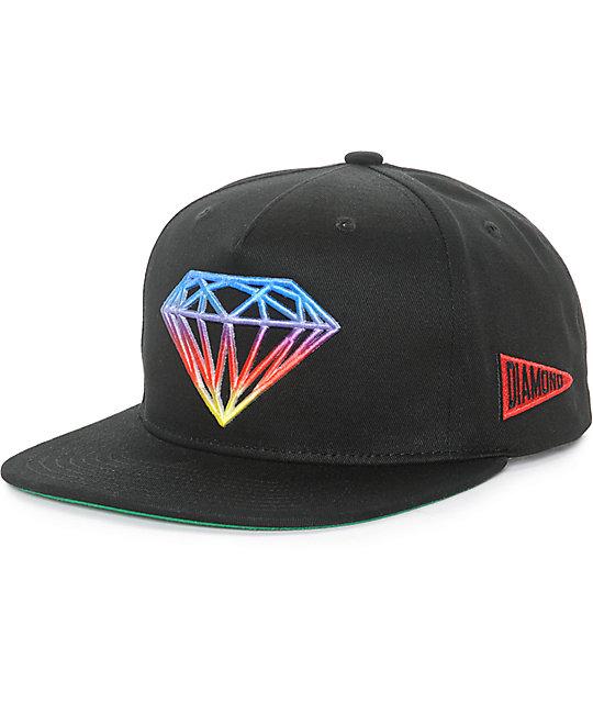 fb618a2b0 Diamond Supply Co Brilliant Gradient Tie Dye Snapback Hat