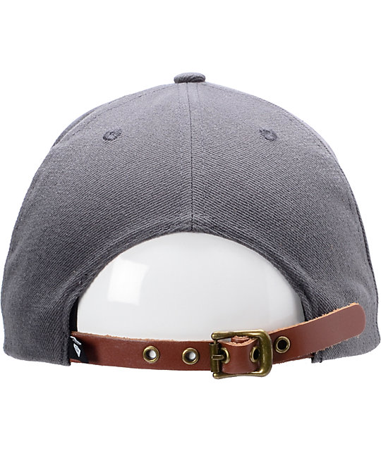 Diamond Supply Co Brilliant Grey Strapback Hat
