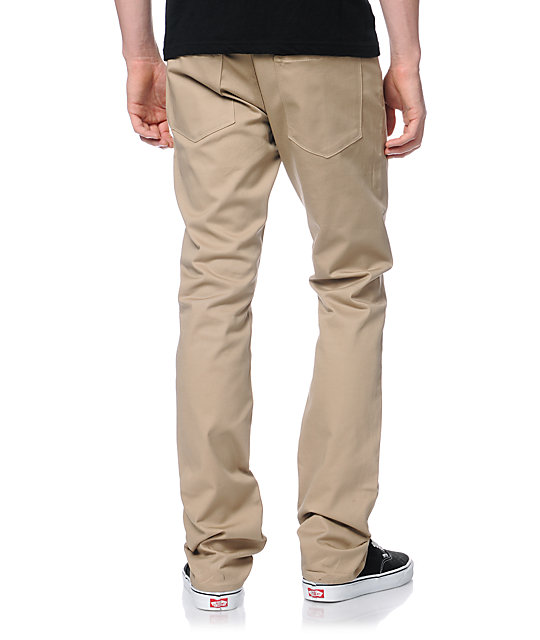 Diamond Supply Co Brilliant Stretch Khaki Slim Chino Pants