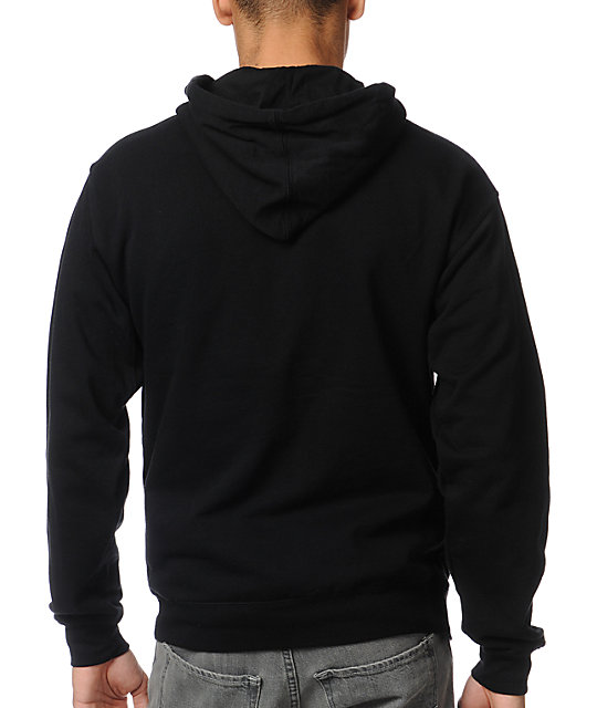 Diamond Supply Co Camo Rock Logo Black Zip Up Hoodie