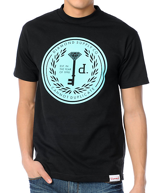 Diamond Supply Co Cannot Duplicate Black T-Shirt