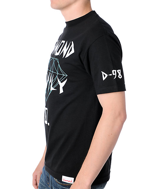 Diamond Supply Co Diamond Black T-Shirt