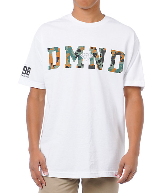Diamond Supply Co Diamond Camo White T-Shirt