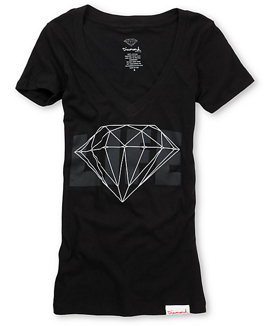 Diamond Supply Co Diamond Life Black T-Shirt