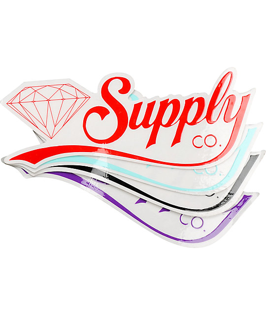 Diamond supply co diamondaire vinyl sticker