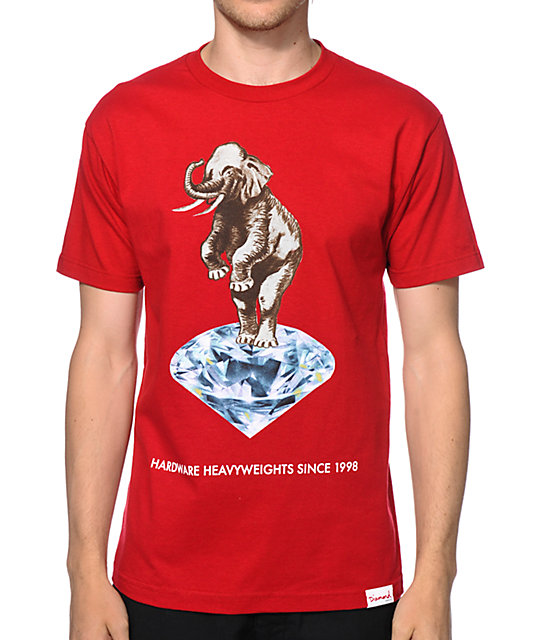 44ec9c5968bf16 Diamond Supply Co Hardware Heavyweights T-Shirt