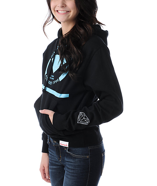 Diamond Supply Co I Shine You Shine Black Pullover Hoodie