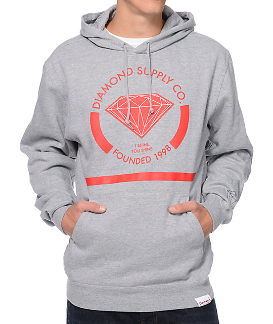 info for deaec d53df amp; Pullover Red Co Supply I Hoodie Shine Diamond Zumiez ...