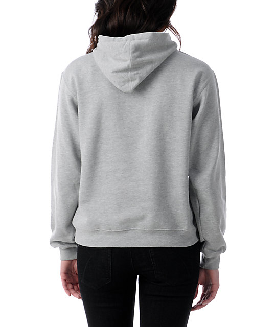Diamond Supply Co I Shine You Shine Heather Grey Hoodie