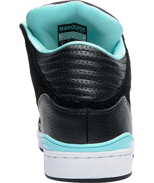 Diamond Supply Co Marquise Black Shoes