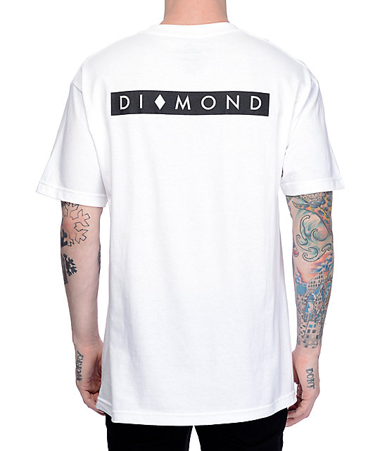 a1120dee49fd Diamond Supply Co Marquise White T-Shirt | Zumiez