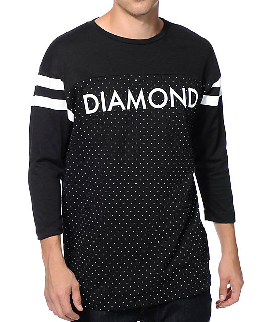 Diamond Supply Co Micro Diamond Football T-Shirt ...