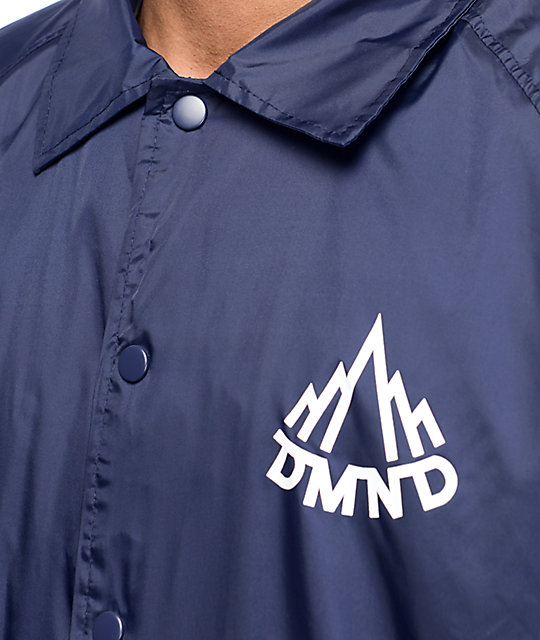 Diamond Supply Co Mountaineer Navy Coaches Jacket